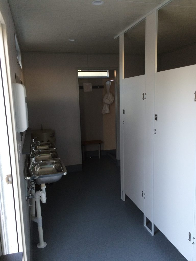 Portable toilets and ablutions