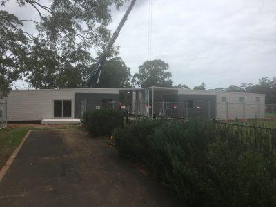 Modular Building - Wilton Anglican
