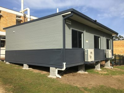 demountable building