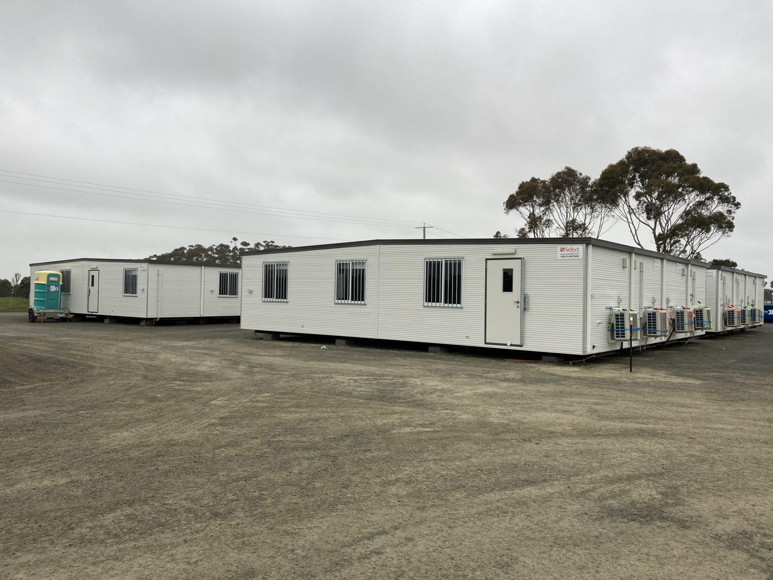 Site Office Complex Exterior